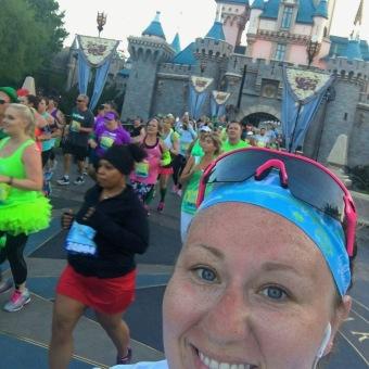 Half Marathon in Disneyland