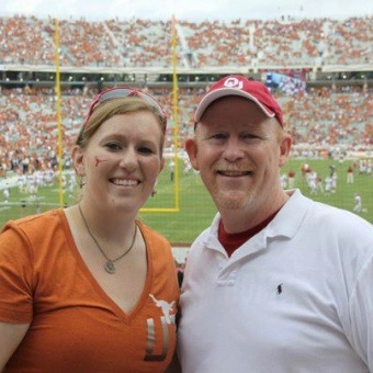Red River Rivalry with Dad