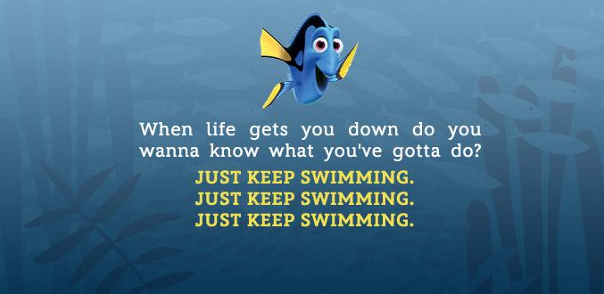 JustKeepSwimming
